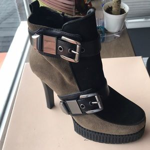 BCBGeneration Suede booties